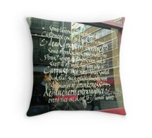 The Bleeding Heart - Hatton Gardens - London Throw Pillow