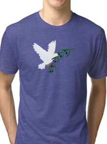 White Dove Tri-blend T-Shirt