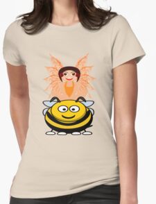 Golden Fairy and her Pet Bee scarf, etc. design T-Shirt