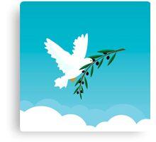 White Dove Canvas Print