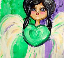 Open Heart Angel by stacieoverman