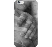marble hand iPhone Case/Skin