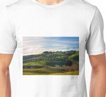 Serpentine Path, La Foce, Tuscany, Italy Unisex T-Shirt