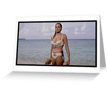 Ursula Andress in Dr. No Greeting Card