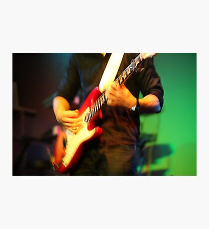Guitar Photographic Print