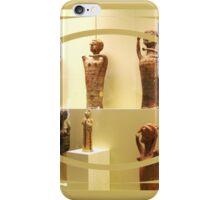 figurines at a greek museum iPhone Case/Skin
