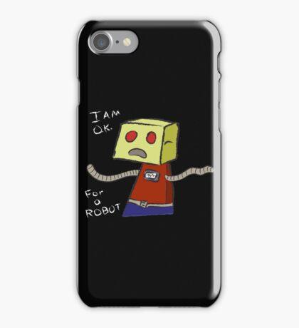 OK ROBOT iPhone Case/Skin