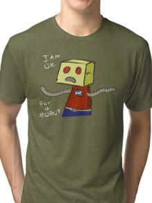 OK ROBOT Tri-blend T-Shirt