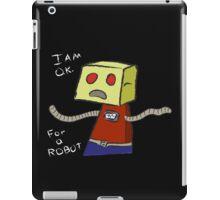 OK ROBOT iPad Case/Skin
