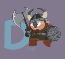 d for dwarf Kids Tee