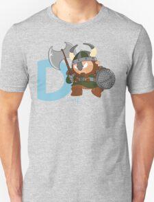 d for dwarf Unisex T-Shirt