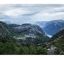 Fjord landscape by artesonraju