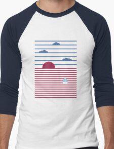 Plain Sailing Men's Baseball ¾ T-Shirt