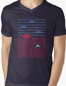 Plain Sailing Mens V-Neck T-Shirt