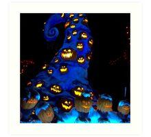 Haunted Mansion Holiday layover! Art Print