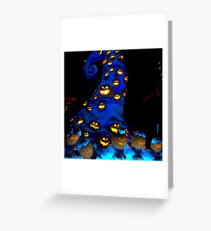 Haunted Mansion Holiday layover! Greeting Card