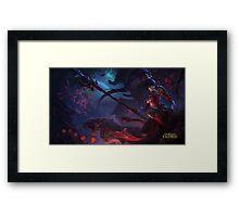Warring Kingdom Nidalee 4K resolution Framed Print