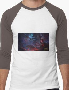 Warring Kingdom Nidalee 4K resolution Men's Baseball ¾ T-Shirt