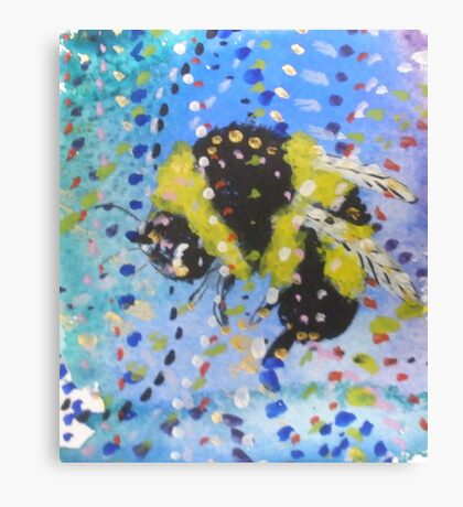 Little Bumble Canvas Print