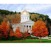 State House in Montpelier Photographic Print