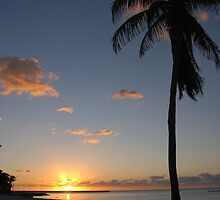 Another pretty sunrise in Key West FL by Susanne Van Hulst