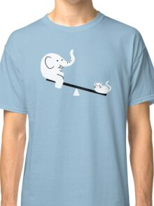 Cat And Elephant Classic T-Shirt