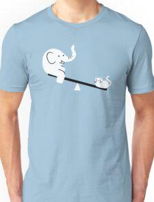 Cat And Elephant Unisex T-Shirt