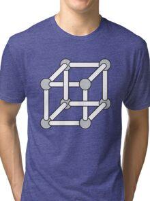 Paradox Box (Optical Illusion Cube) Tri-blend T-Shirt