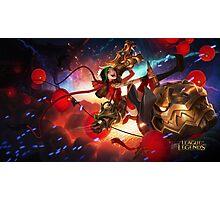 League of Legends Firecracker Jinx - 4K resolution Photographic Print