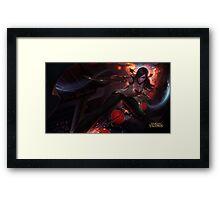 League of Legends - Warring Kingdoms Katarina 4K resolution Framed Print