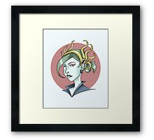 Priestess of Dagon Framed Print