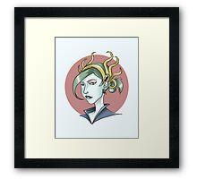 Priestess of Dagon Framed Print