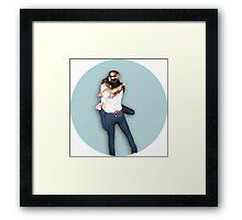 HYOSIC/HYOSICA SNSD GIRLS' GENERATION COUPLE  Framed Print
