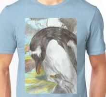 Gentoo Penguin and Chick- Falkland Islands Unisex T-Shirt