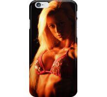 Pretty model iPhone Case/Skin