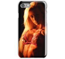 Pretty model iPhone Case/Skin