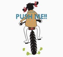 Please Push Me One Piece - Short Sleeve