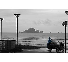 The End of the Day - Krabi Thailand Photographic Print