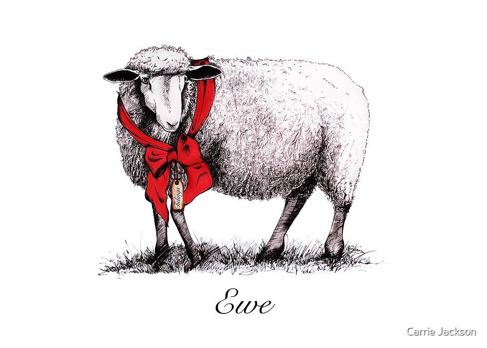 Ewe Tidings by Carrie Jackson