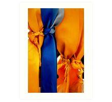 Memorial Ribbons Art Print
