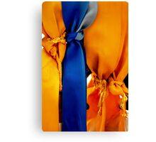Memorial Ribbons Canvas Print