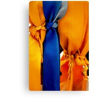 Memorial Ribbons Canvas Print