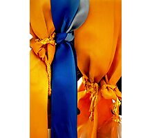 Memorial Ribbons Photographic Print