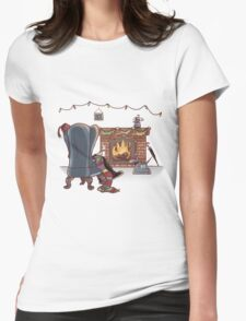 Happy Wholidays Womens Fitted T-Shirt