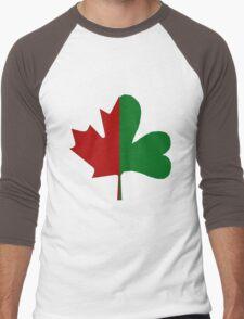 Irish Canadian/Canadian Irish Men's Baseball ¾ T-Shirt