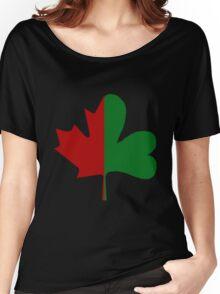 Irish Canadian/Canadian Irish Women's Relaxed Fit T-Shirt