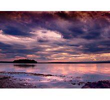 Stormfire Island... Photographic Print