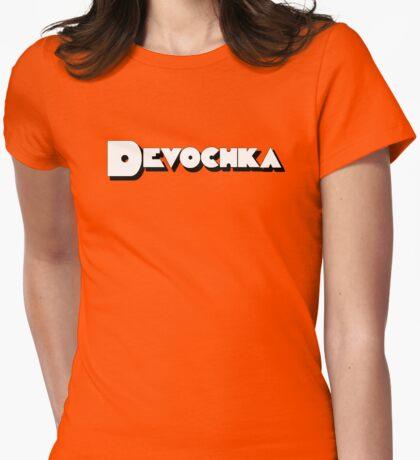Devochka Womens Fitted T-Shirt