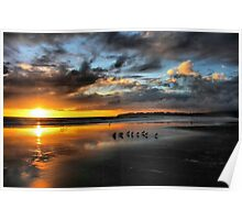 Sunset at Stinson Poster