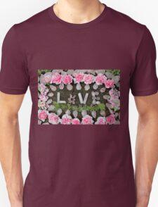 LOVE in ROSE QUARTZ Unisex T-Shirt